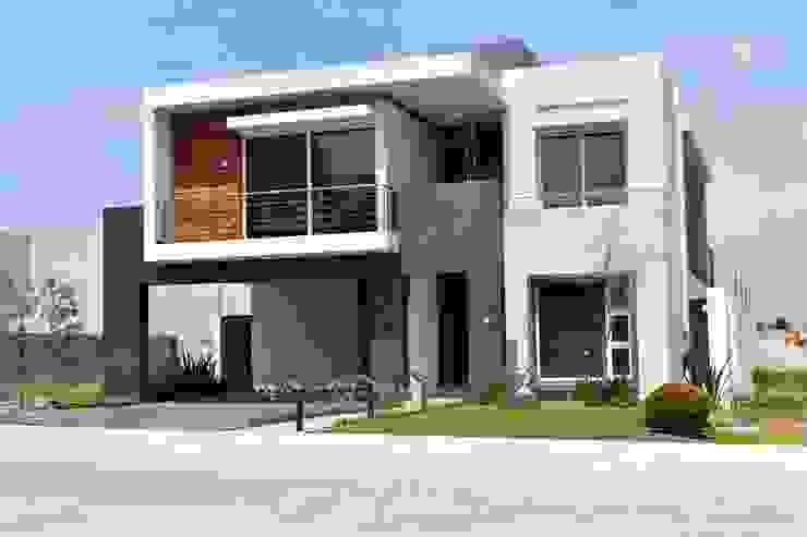 Casas modernas por arketipo-taller de arquitectura Moderno