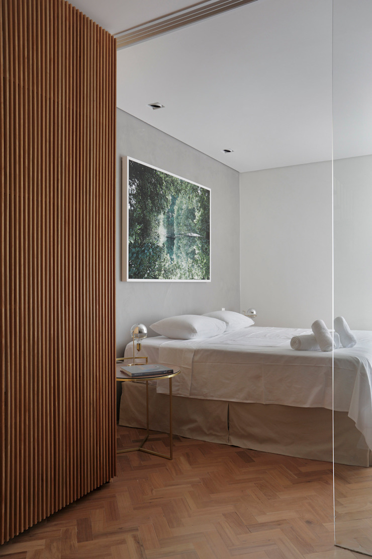 House in Rio Modern style bedroom