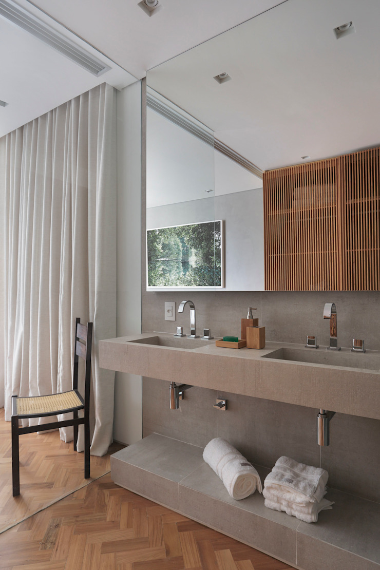 House in Rio Modern bathroom