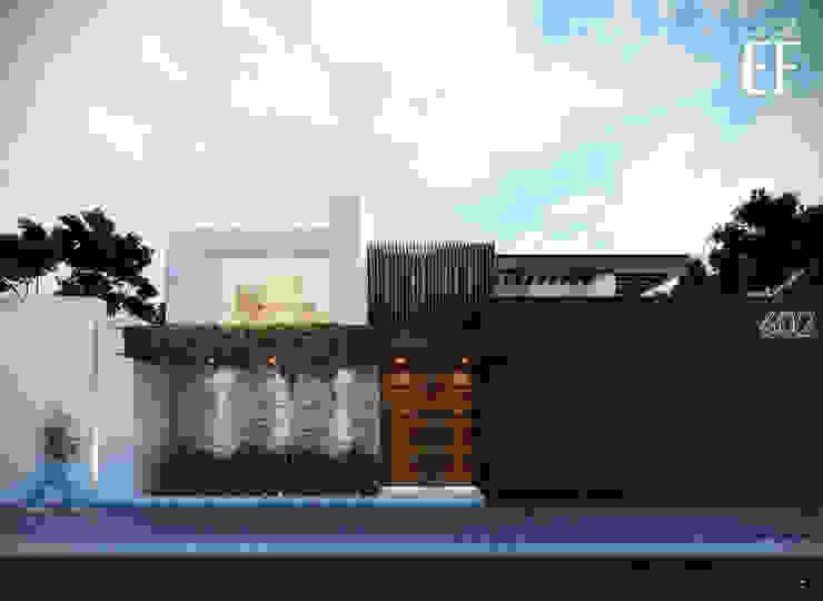 Minimalistische Häuser von Besana Studio Minimalistisch