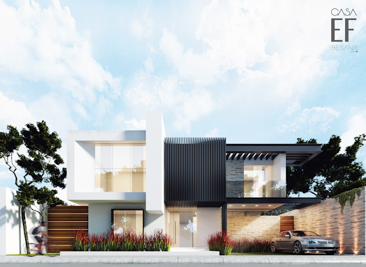 Maisons minimalistes par Besana Studio Minimaliste