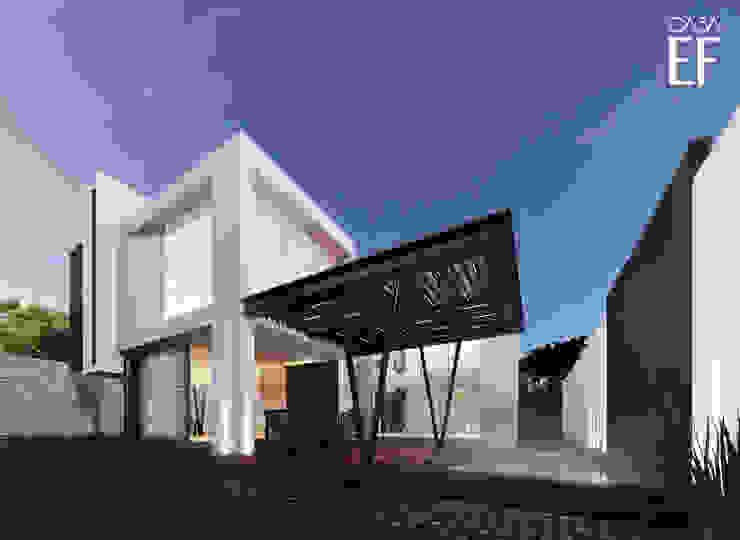 Casas minimalistas por Besana Studio Minimalista