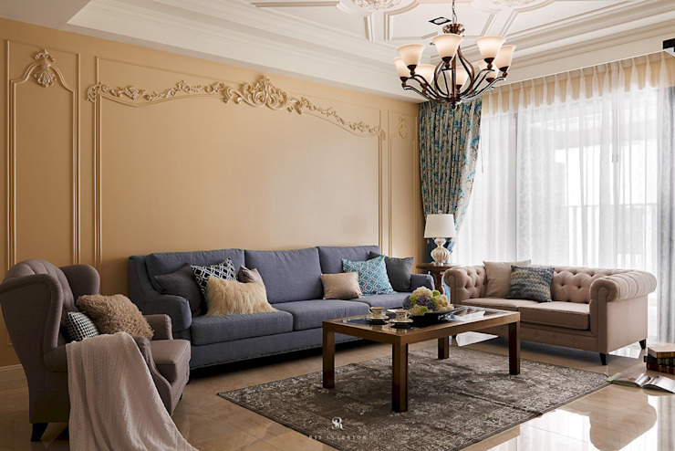 by 理絲室內設計有限公司 Ris Interior Design Co., Ltd. Кантрi