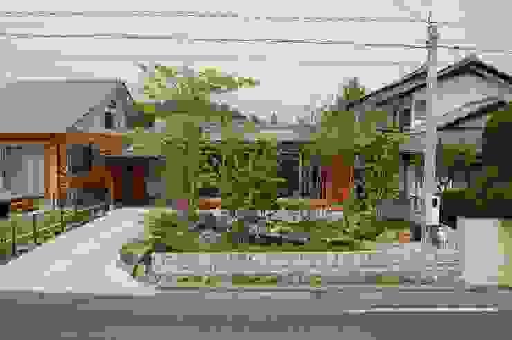 田村建築設計工房 Casas asiáticas