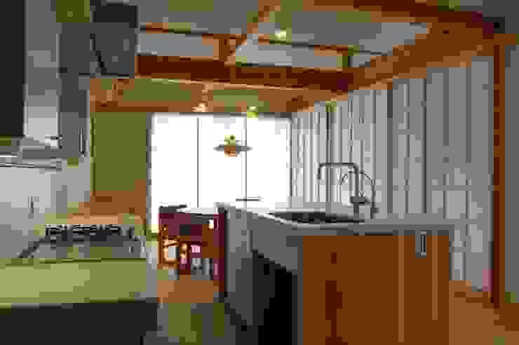 まちの家 和風の キッチン の 田村建築設計工房 和風