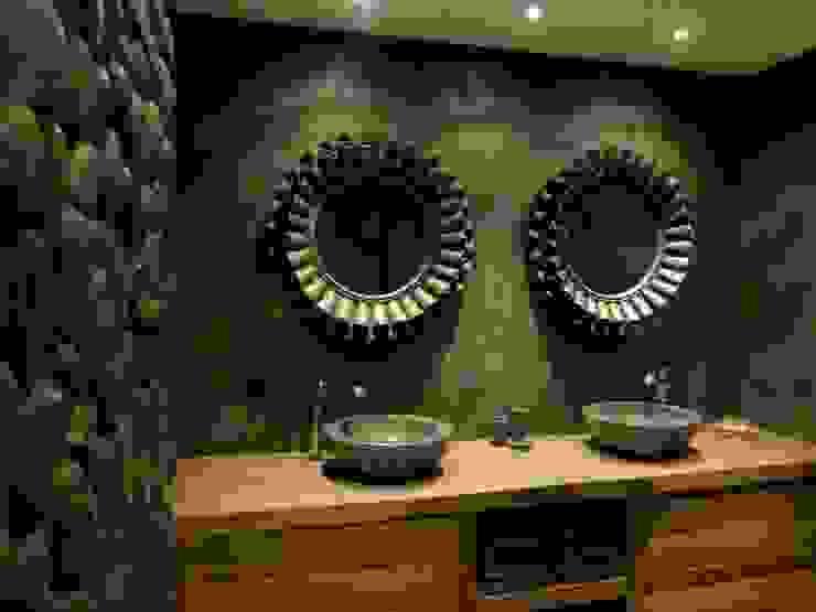 Bathroom by RestyleXL, Modern لکڑی Wood effect