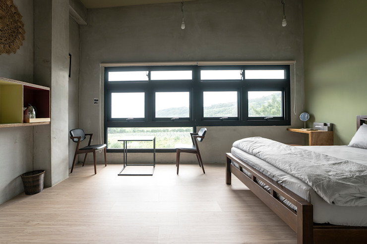 Modern style bedroom by 築里館空間設計 Modern
