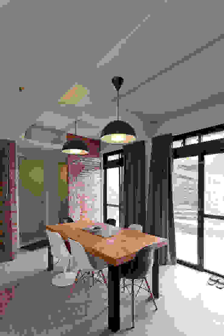 九份M宅 根據 築里館空間設計 鄉村風