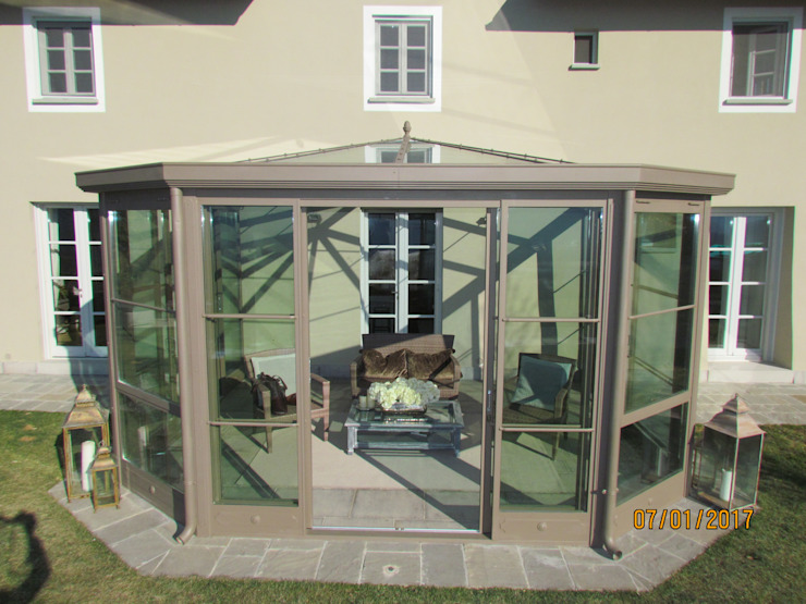 Studio Tecnico Progettisti Associati Ing. Marani Marco & Arch. Dei Claudia Modern houses Glass Transparent