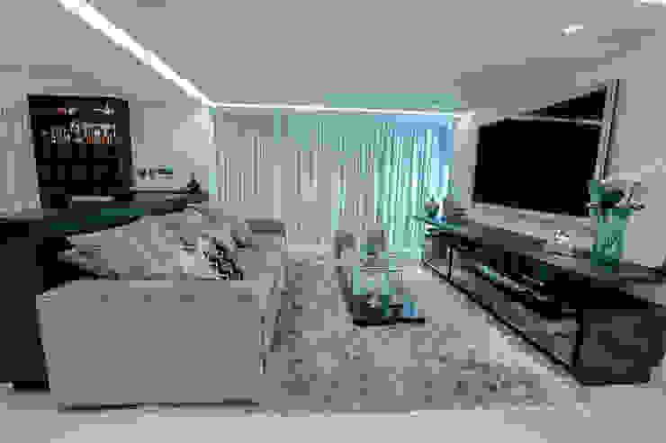 Cores neutra para Sala Carolina Fontes Arquitetura Salas de estar modernas
