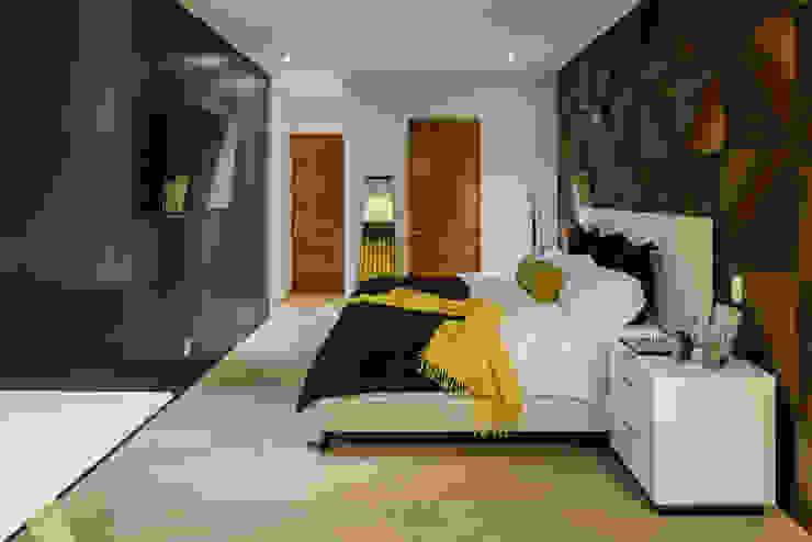 Moderne slaapkamers van NIVEL TRES ARQUITECTURA Modern Hout Hout