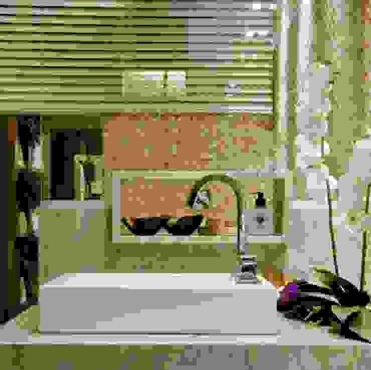 ห้องน้ำ โดย Carolina Fontes Arquitetura,