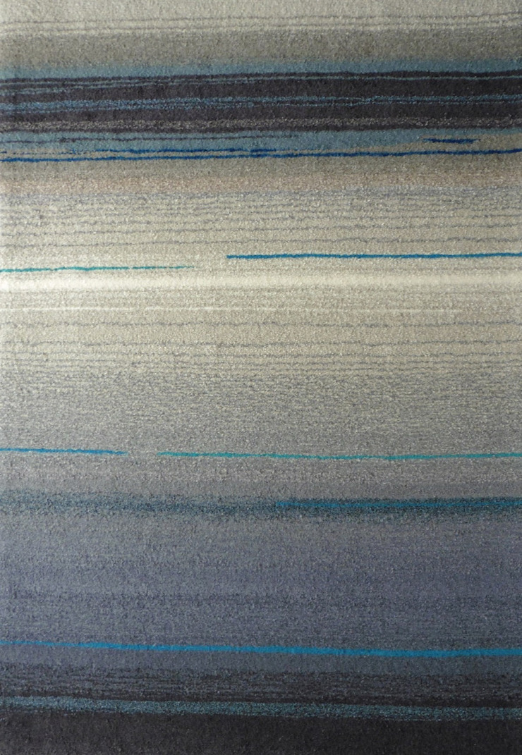 Tapis Degrades Gris Bleu By Rectangle D Or Homify