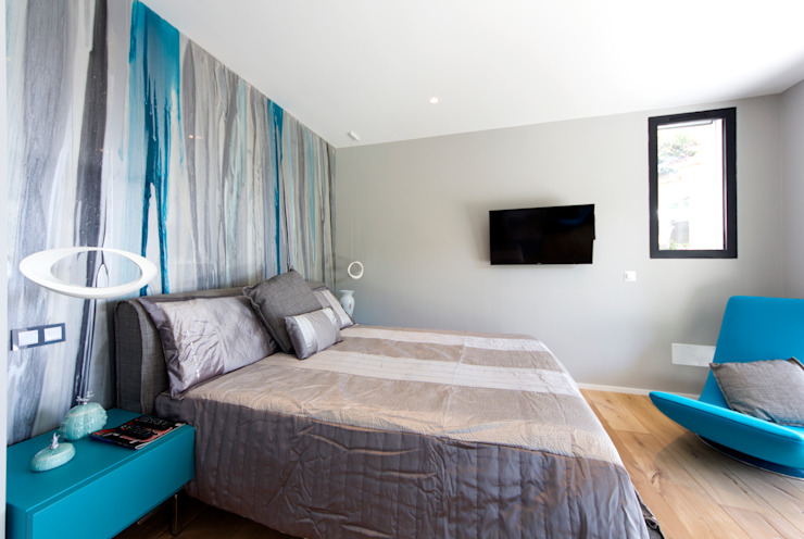 Camera padronale Camera da letto moderna di MBquadro Architetti Moderno