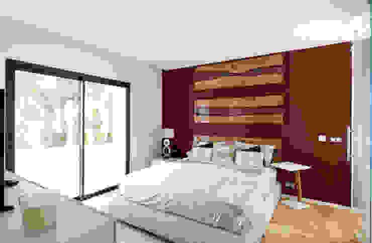 Modern style bedroom by MBquadro Architetti Modern