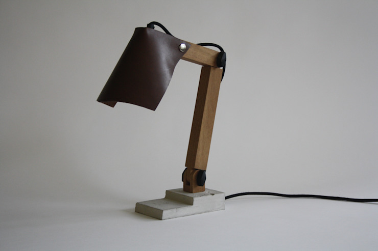 BigFoot lamp van Tim Vinke - Interior Design Industrieel Beton