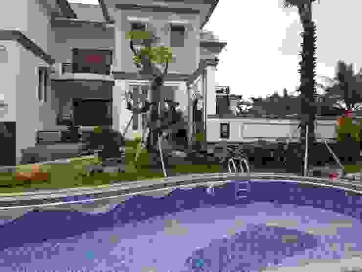 Taman Klasik Tropis Oleh TUKANG TAMAN SURABAYA - jasataman.co.id Klasik