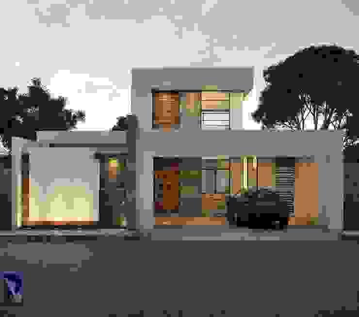 Casas de estilo  por Alan Rangel Arquitecto
