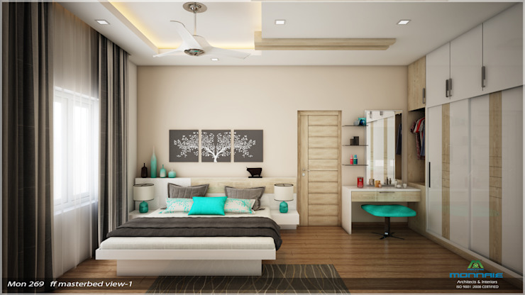 Traditional Treat Classic style bedroom by Premdas Krishna Classic