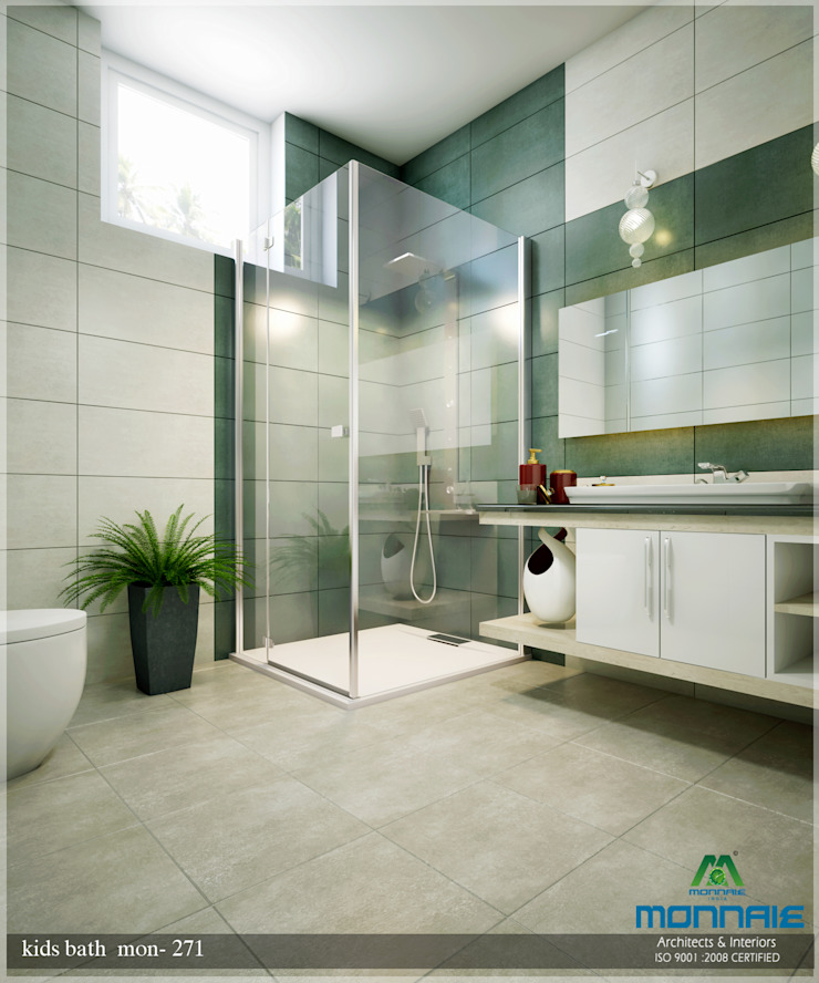 Bright and Energetic Design Classic style bathroom by Premdas Krishna Classic