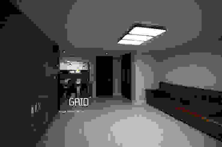 거실인테리어 모던스타일 거실 by Design Studio Grid+A 모던