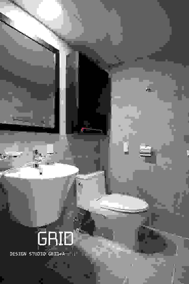 부부욕실 인테리어 모던스타일 욕실 by Design Studio Grid+A 모던