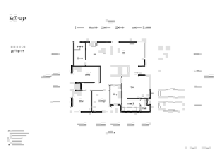 충청남도 금산시 전원주택: 디자인 이업의 현대 ,모던