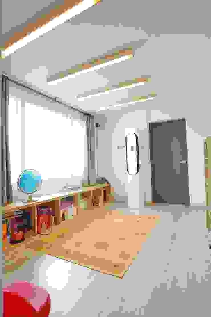 대구 주텍 인테리어 리모델링 아파트 모던스타일 거실 by inark [인아크 건축 설계 디자인] 모던