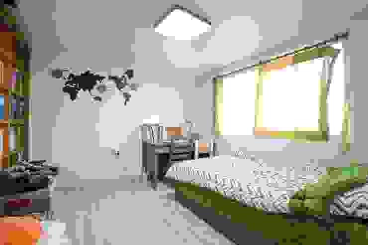 대구 주텍 인테리어 리모델링 아파트 모던스타일 아이방 by inark [인아크 건축 설계 디자인] 모던