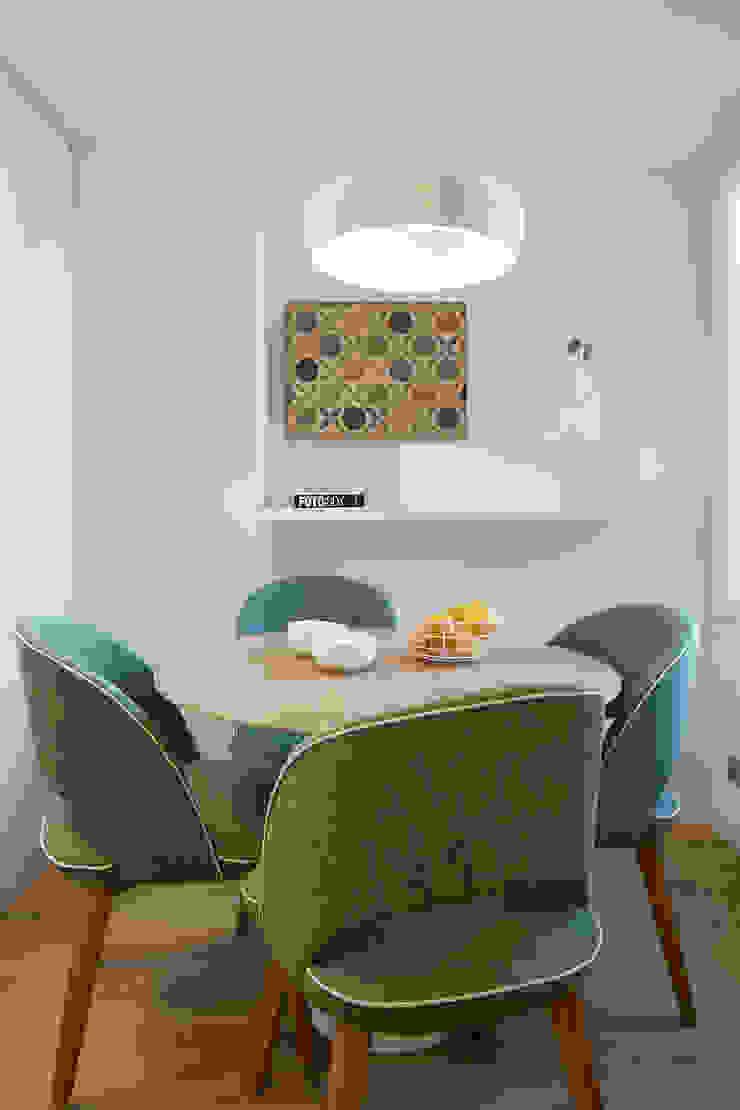 Rustic style kitchen by Deu i Deu Rustic Wood Wood effect