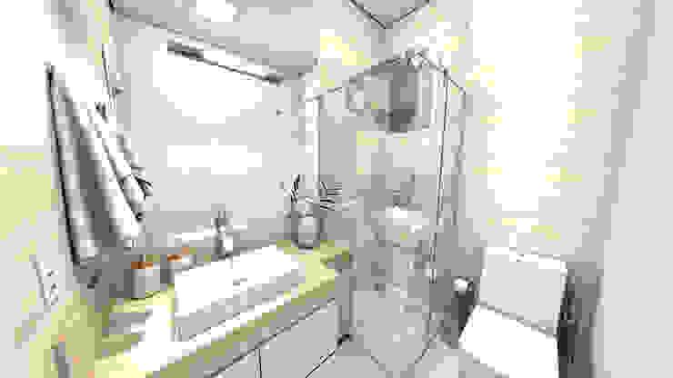 ห้องน้ำ โดย Gustavo Bodini | Designer de Interiores,