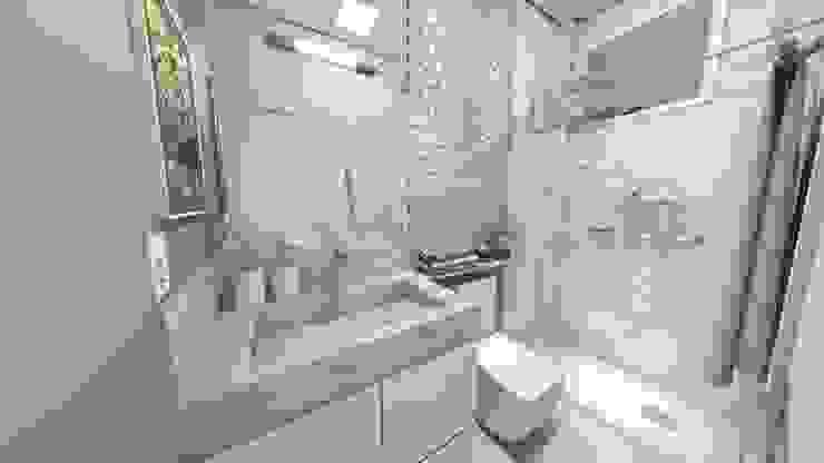 Baños modernos de Gustavo Bodini | Designer de Interiores Moderno