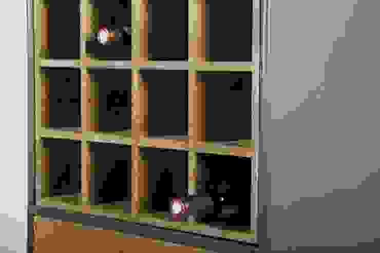 La Boutique Paris Wine cellar Wood Grey