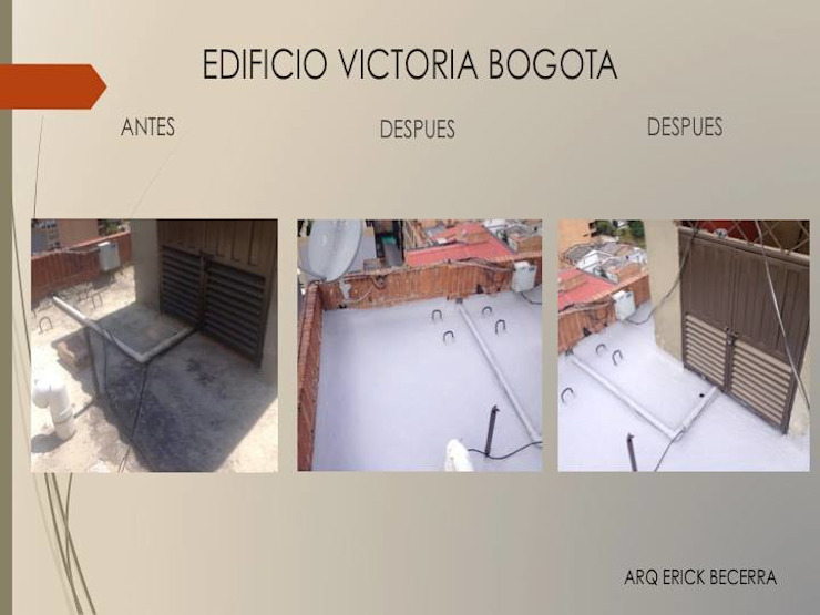 Cubierta de Erick Becerra Arquitecto