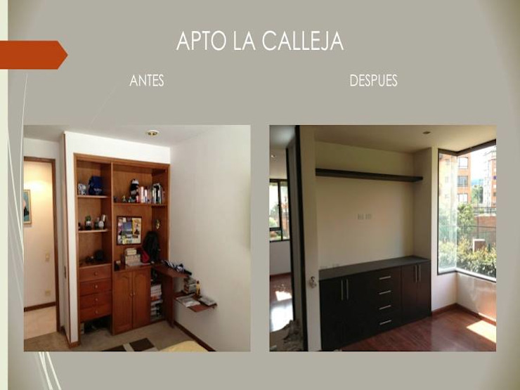 Closets de Erick Becerra Arquitecto
