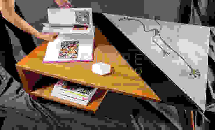 Mesa de centro Versiliana, Elige Arabescato o Bianco Carrara. de SquareTop Design Escandinavo Mármol