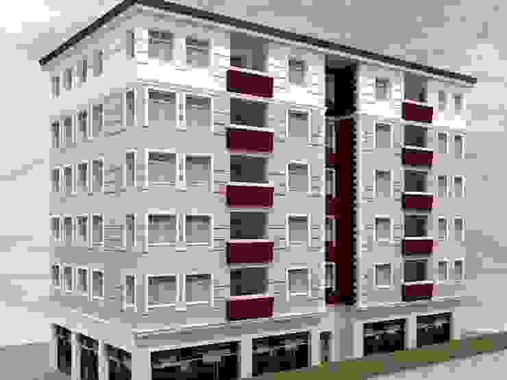 yağmur mimarlık Modern Houses Concrete White