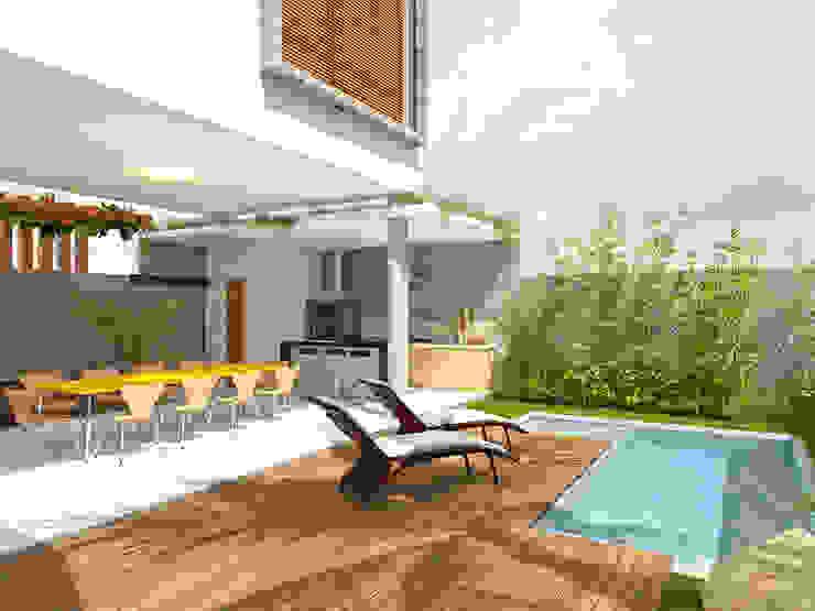 Macro Arquitetos 現代房屋設計點子、靈感 & 圖片