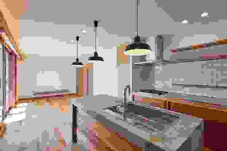 HouseK1 モダンな キッチン の 一級建築士事務所 ima建築設計室 モダン コンクリート