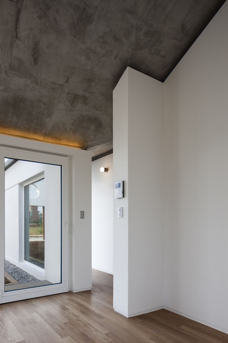 디귿집 러스틱스타일 거실 by 에이오에이 아키텍츠 건축사사무소 (aoa architects) 러스틱 (Rustic)