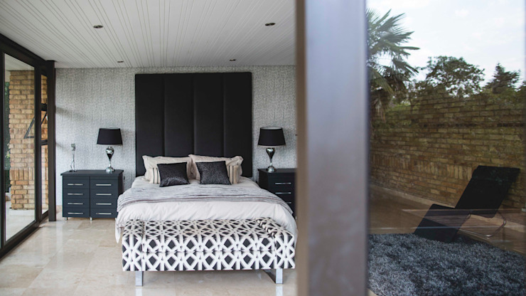 House Hoffman Modern style bedroom by Swart & Associates Architects Modern