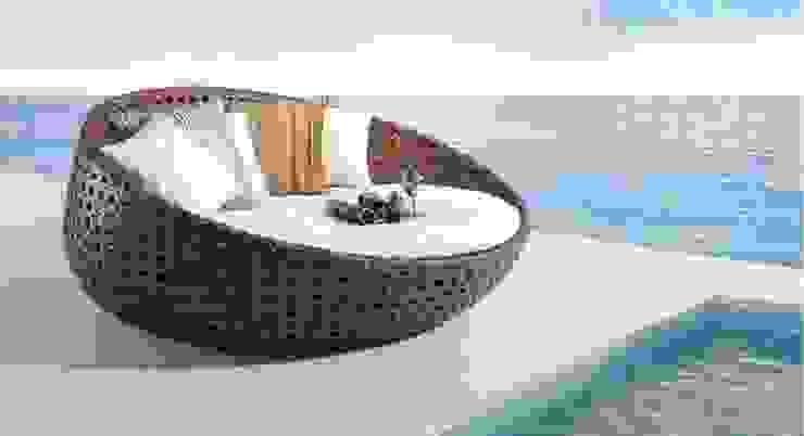 Outdoor Terrace and Garden Furniture: modern  by Studio Machaan ,Modern