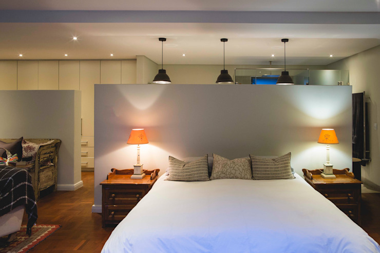 House Pont Modern style bedroom by Swart & Associates Architects Modern