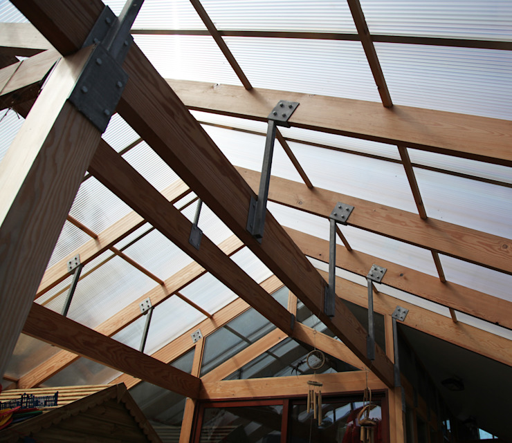 Boscastle Pre-school timber structure Modern schools by Innes Architects Modern Wood Wood effect