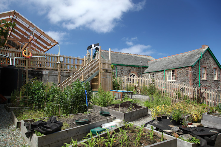 Boscastle Pre-school Modern schools by Innes Architects Modern Wood Wood effect