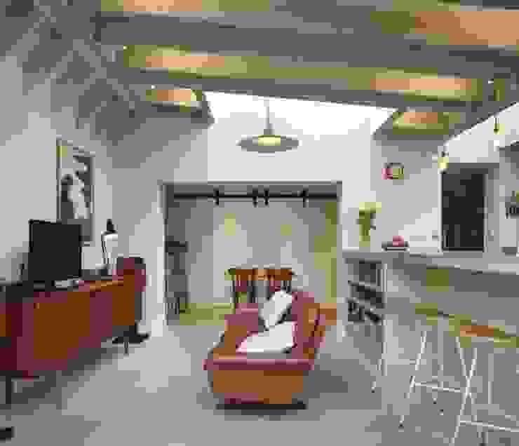 Living Room Modern Living Room by Fraher and Findlay Modern Concrete