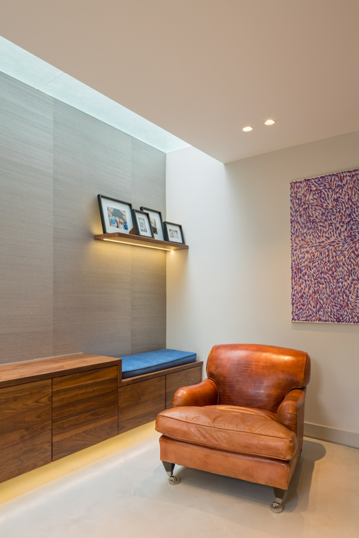 Light well Modern Living Room by Fraher and Findlay Modern Wood Wood effect