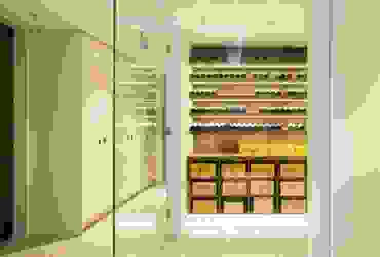 Wine cellar Modern Home Wine Cellar by Fraher and Findlay Modern