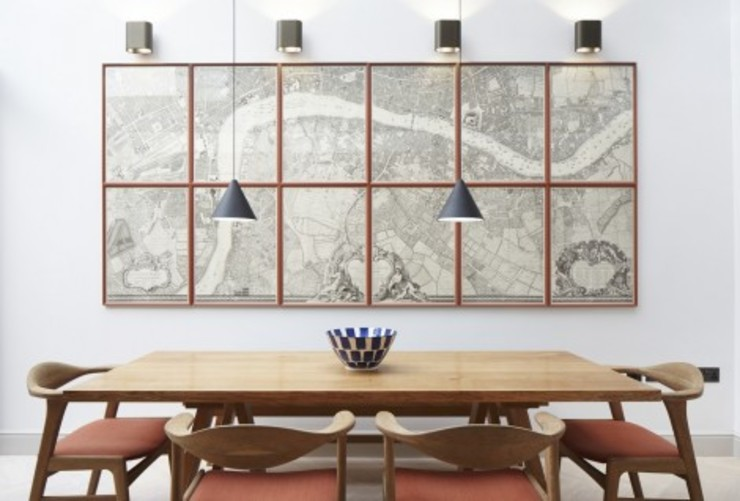 Lambeth Marsh House Scandinavian style dining room by Fraher and Findlay Scandinavian