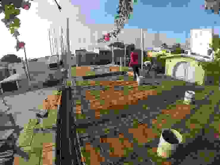 hora de colado Ma&Co Casas minimalistas Concreto